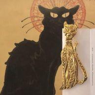 """Bookmark """"Klimt"""" cat"""