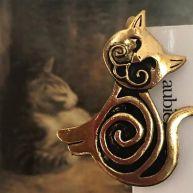 Bookmark Elegant cat
