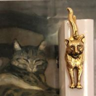 Bookmark Facing cat
