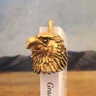 Marque-page Tête d'aigle